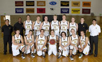 Thumbnail for Men's Basketball Team Portrait 2010-2011