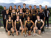 Thumbnail for Men's Cross Country Team Portrait 2010-2011