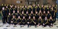 Thumbnail for Women's and Men's Swimming and Diving Team Portrait 2010-2011