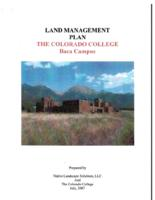 Thumbnail for Land management plan : The Colorado College Baca campus