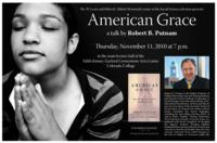 Thumbnail for American grace : a talk by Robert [D.] Putnam