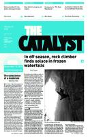 Thumbnail for The catalyst [2010-2011 v. 41 no. 8 November 12]