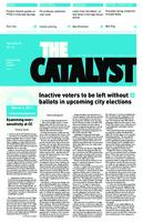 Thumbnail for The catalyst [2010-2011 v. 41 no.17 March 4]