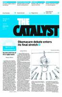 Thumbnail for The catalyst [2011-2012 v. 42 no.20 April 6]