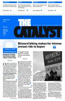 Thumbnail for The catalyst [2009-2010 v. 40 no. 4 October 2]