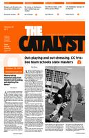 Thumbnail for The catalyst [2009-2010 v. 40 no. 7 October 30]