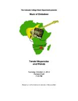 Thumbnail for [2012-10-02] Music of Zimbabwe