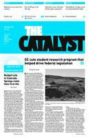 Thumbnail for The catalyst [2009-2010 v. 40 no.22 April 30]