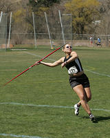 Thumbnail for Cross Country and Track and Field Brochure Photos. Fall 2005. Javelin1500