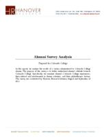 Thumbnail for Alumni Survey Analysis