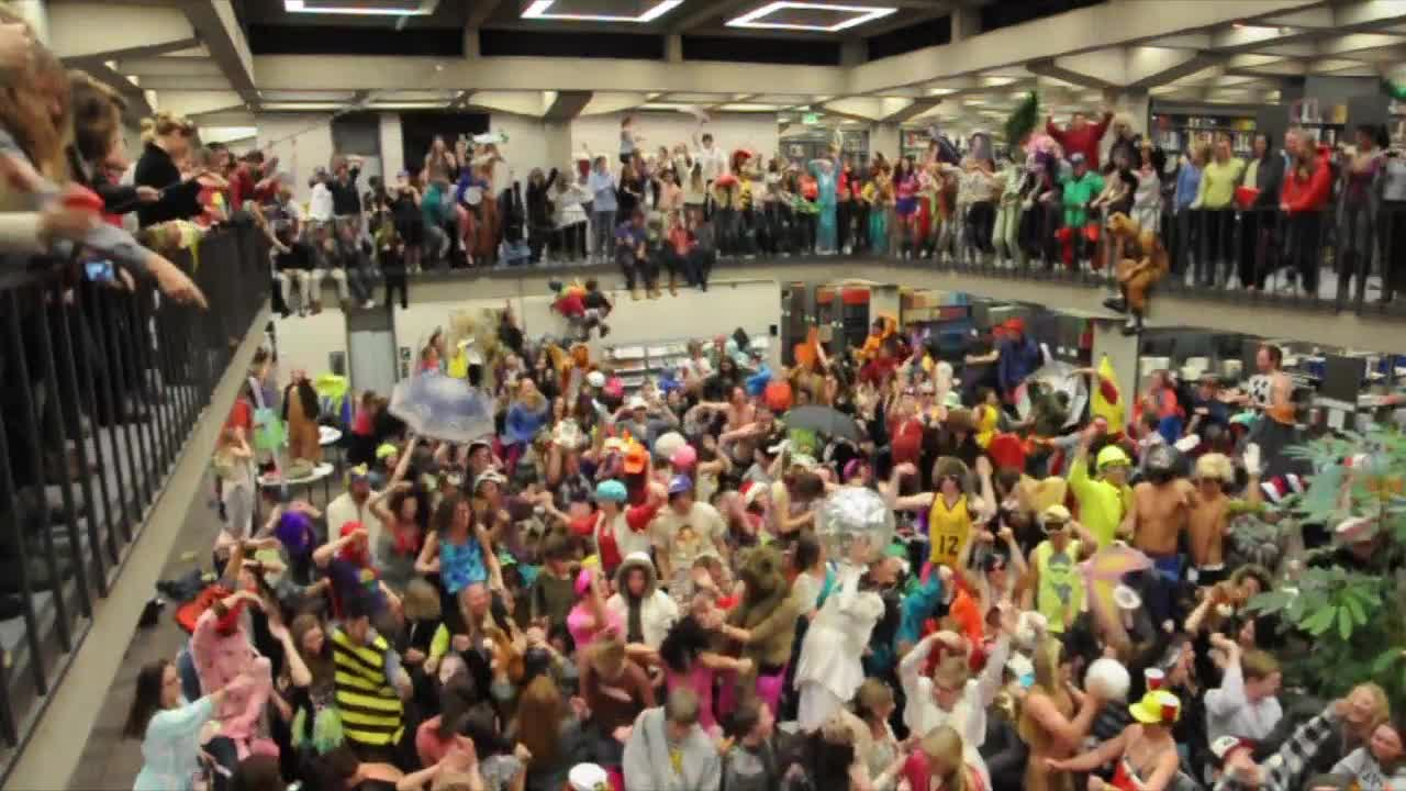 Thumbnail for Harlem Shake at Tutt Library