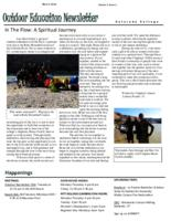 Thumbnail for Outdoor education newsletter [2012-2013 v. 2 no. 1 Block 2]