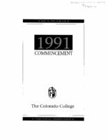 Thumbnail for Commencement Program 1991