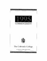 Thumbnail for Commencement Program 1995