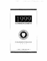 Thumbnail for Commencement Program 1999