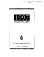 Thumbnail for Commencement Program 1997