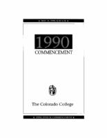 Thumbnail for Commencement Program 1990