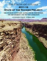 Thumbnail for 2011 Summer field work : Colorado College State of the Rockies Project