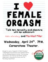 Thumbnail for I [love] female orgasm : talk sex, sexuality and pleasure with sex educators Kate Weinberg and Marshall Miller