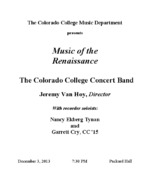 Thumbnail for Concert Band [2013-12-03]