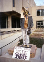 "Thumbnail for 1996 Charles Leaming (""Chas"") Tutt statue, decorated."