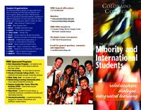 Thumbnail for [2013] The Office of Minority and International Students : relationships, dialogue, integrated learing
