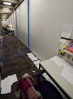 Thumbnail for Students studying in Tutt Library (second floor)  [2011 Block 5]