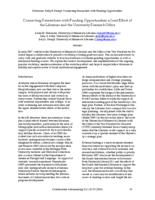 Thumbnail for Connecting researchers with funding opportunities : a joint effort of the Libraries and the University Research Office