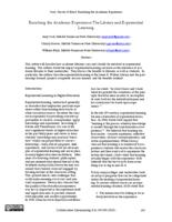 Thumbnail for Enriching the academic experience : the library and experiential learning
